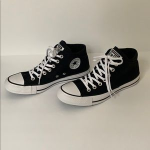 Black converse ctas Madison mid size 7.5 women